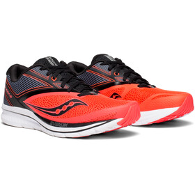 saucony Kinvara 9 Shoes Men ViziRed/Black